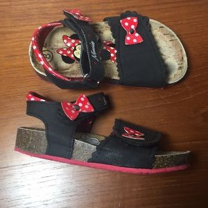 Disney Minnie Mouse Sandals Shoes S